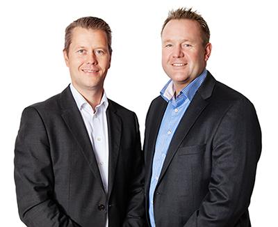 ACS Nordics grundare, Mikael Törnberg och Mats Gårdestam