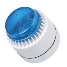 Kombinerat cirkulärt xenonblixljus och siren