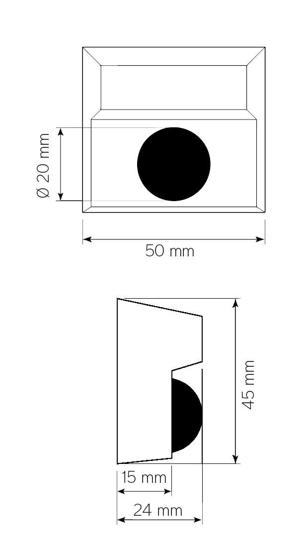 Diodindikering med eller utan summer-ritning