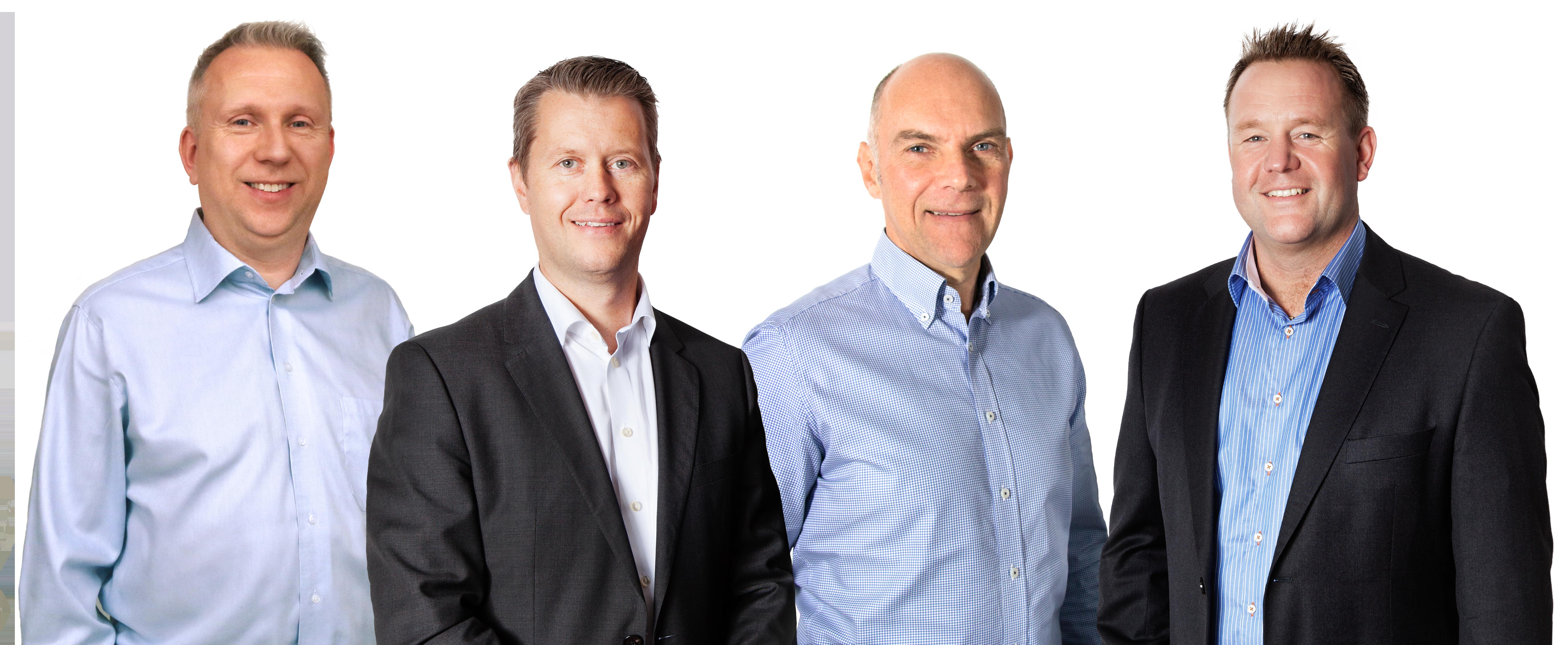 Vi hjälper dig med teknisk support: Andreas Palmér, Mikael Törnberg, Ulf Persson & Mats Gårdestam