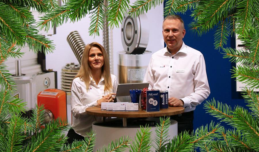 Vi hälsar både Andreas Palmér (ny projektsäljare) och Lina Bergström (ny inköpare) varmt välkomna!
