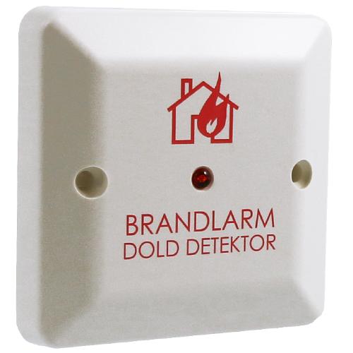 LED-indikator, dold detektor