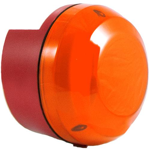 Orange enkelblixt