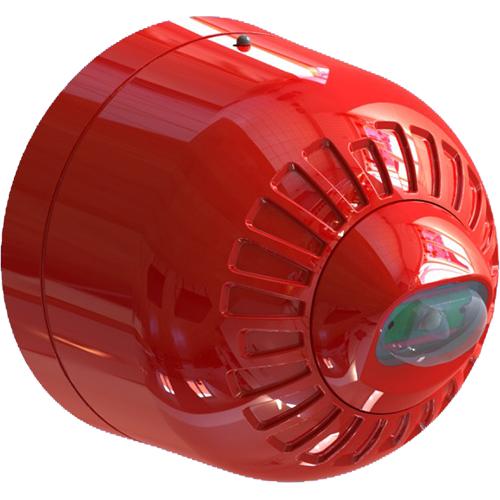Väggmonterat bIixtljus godkänt enligt EN54-23