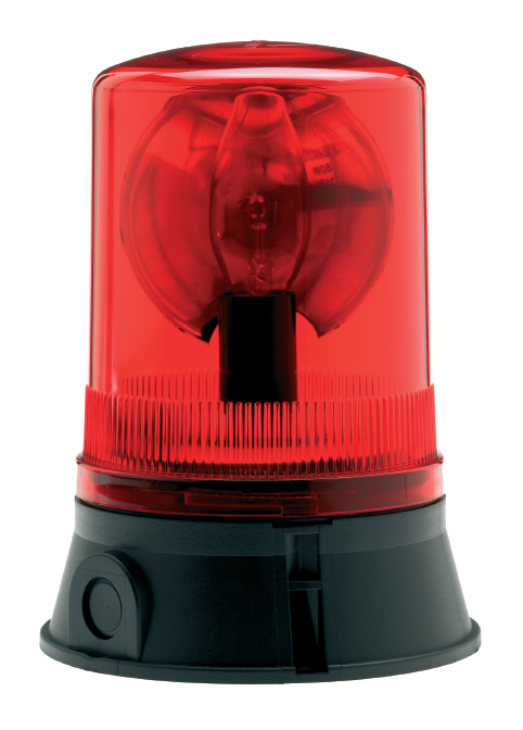 Roterande varningslampa