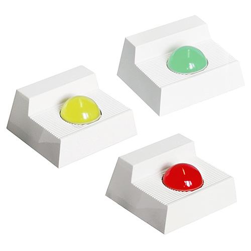 LED-indikator, optisk indikering